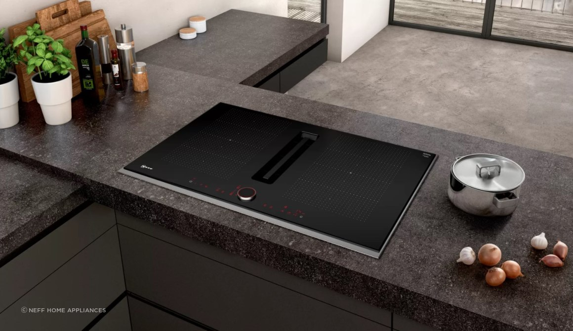 Induction Cooktop with Ventilation 80cm