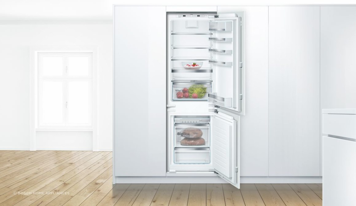 Bosch Serie 6 Built-in Fridge-Freezer