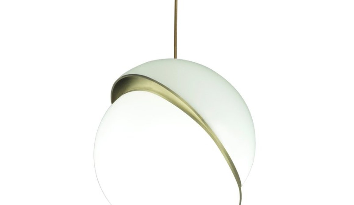 Crescent Light pendant by Lee Broom