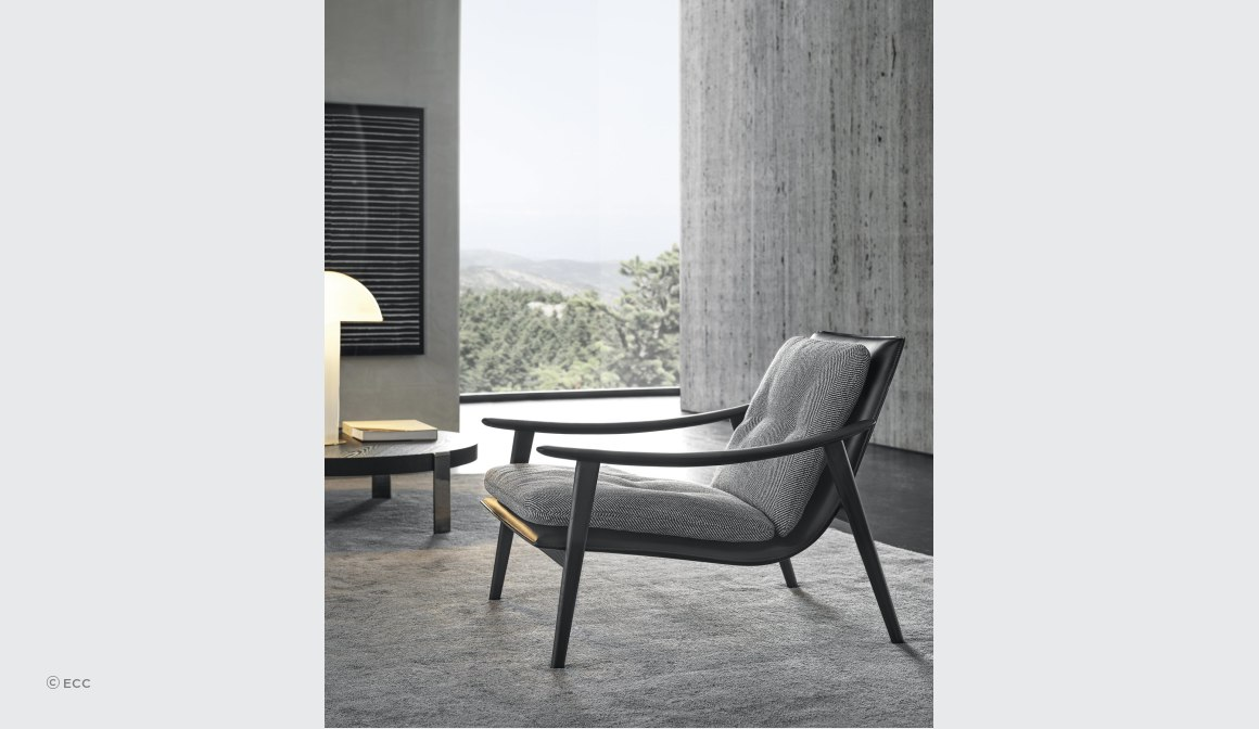Fynn Armchair by GamFratesi for Minotti