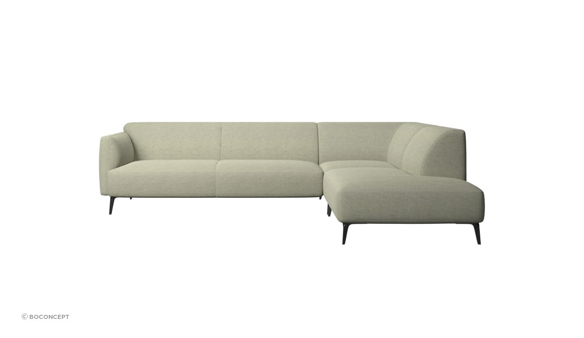 Modena Corner Sofa With Lounging Unit