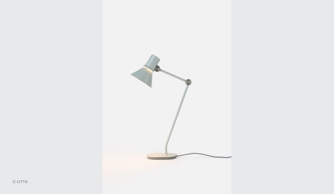 Type 80 Table Lamp Grey Mist