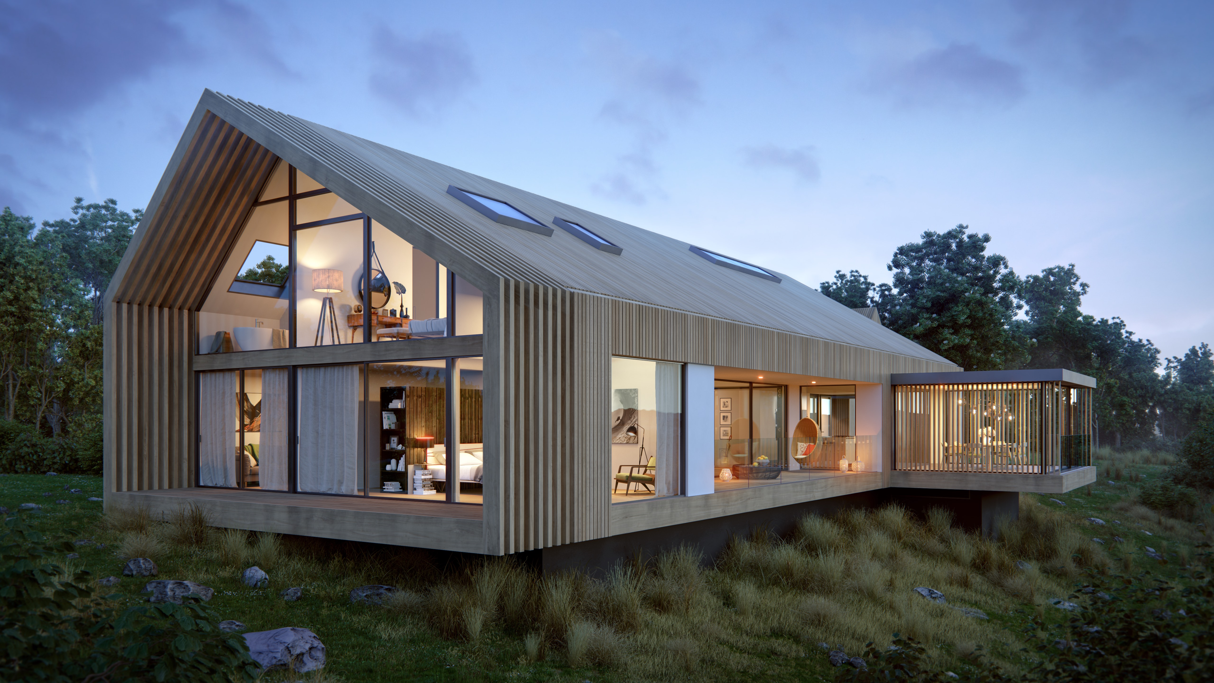 Contemporary Barn House Archipro