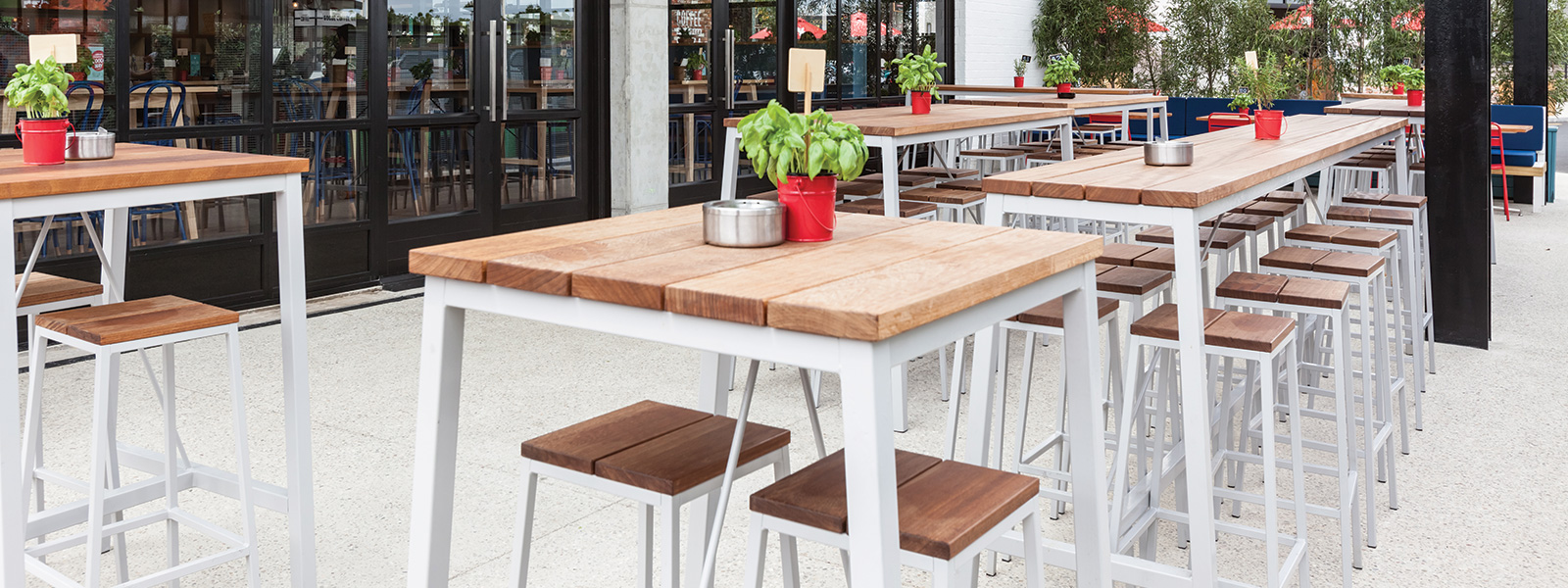 Extant Outdoor Stool Harrows Contract Furniture Archipro