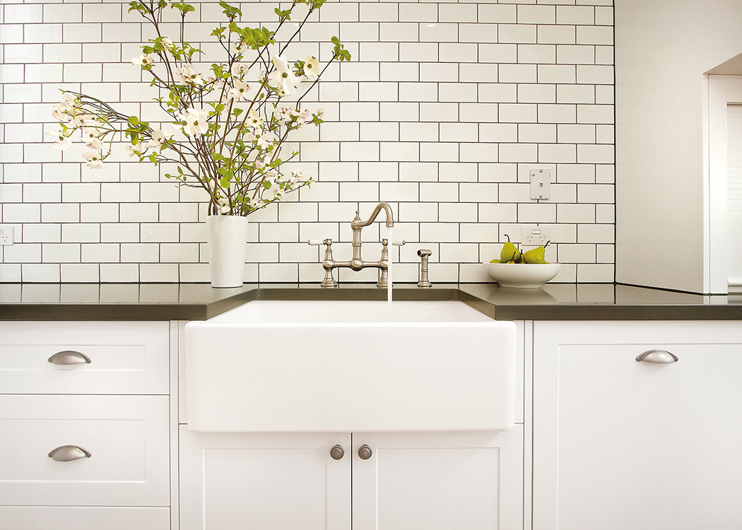 perrin rowe provence kitchen tap in residence archipro