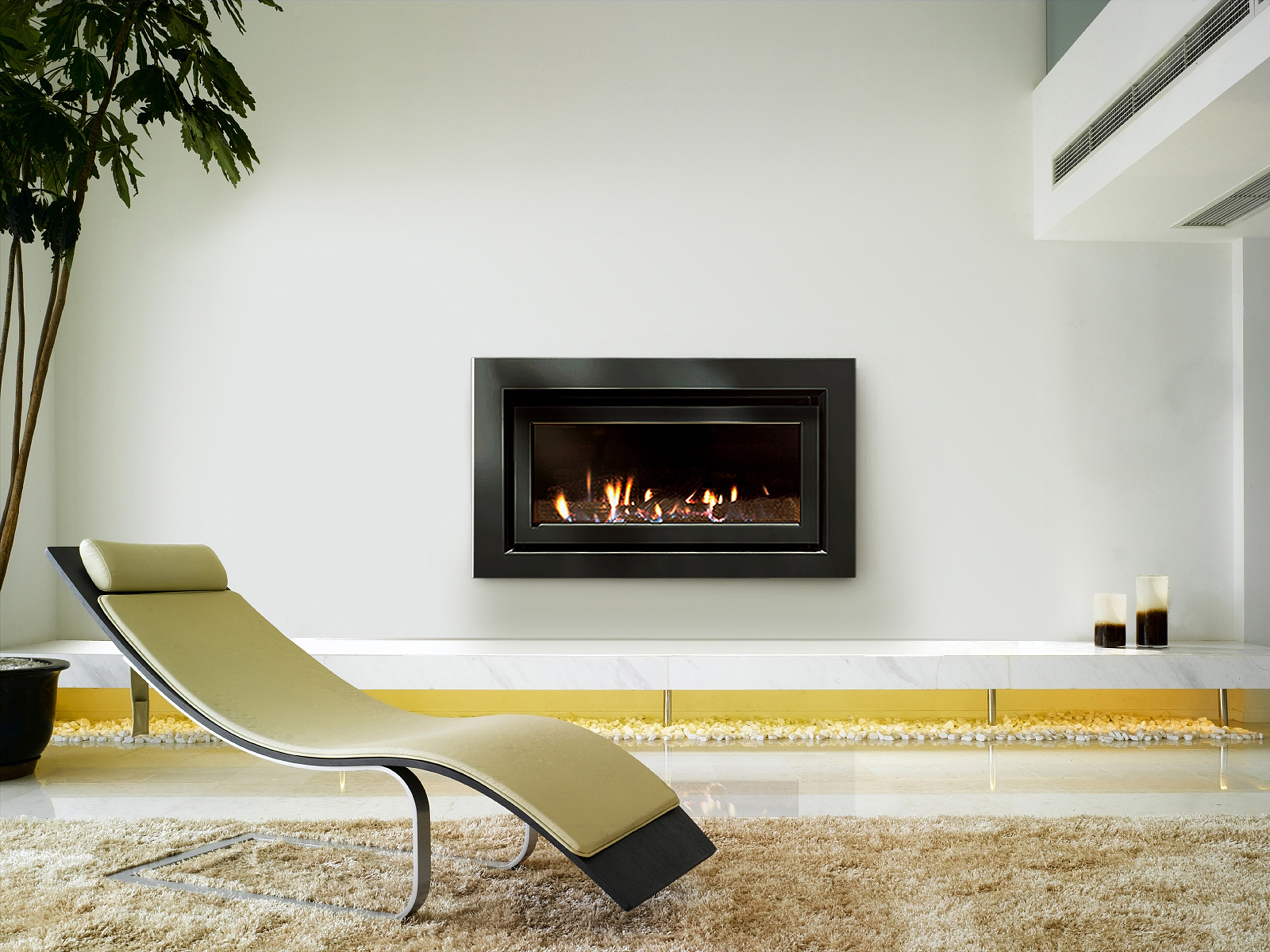 dl850 high efficiency fireplace escea archipro